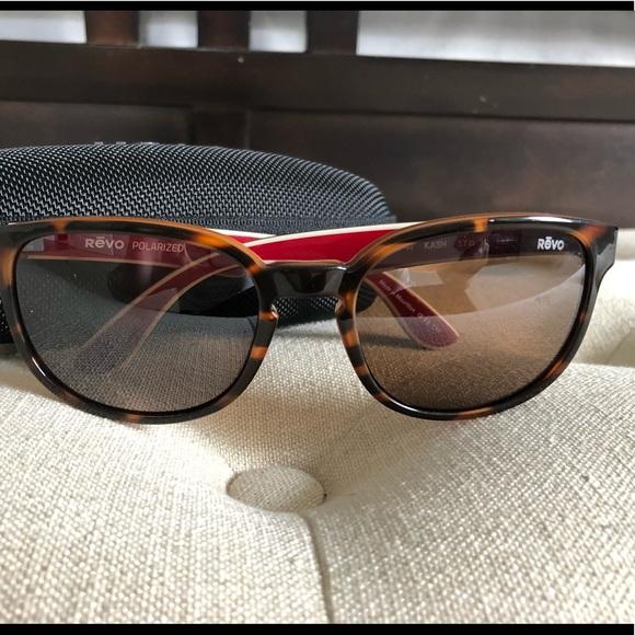 0cd1bb6b4d REVO Kash Sunglasses - Polarized - Tortoise   Red.  M 5b48b42312cd4a0bbf772d9f. Other Accessories ...